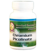 Standard Enzyme Chromium Picolinate 100 Capsules, Supports: Provides support for the pancreas, and the immune system.