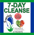 Regalabs Seven Day Cleanse 21 Packets, Seven Day Cleanse includes 16 natural cleansers, A complete 7 day cleanse with 16 herbs to detox the entire body. Seven Day Cleanse contains 4200mg of fiber per packet with Flaxseed, Cape Aloe, and Black Walnut.