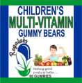 Regalabs Children's Multi-Vitamin Gummy Bears 90 Count