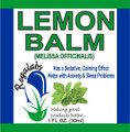 Regalabs Lemon Balm 1oz