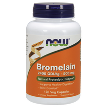 Now Foods Bromelain 500 mg 120 Vegetarian Capsules #2947