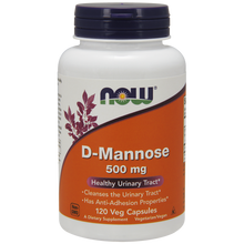 Now Foods D-Mannose 500 mg 120 Capsules #2811