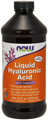 Now Foods Liquid Hyaluronic Acid 100 mg 16oz #3159