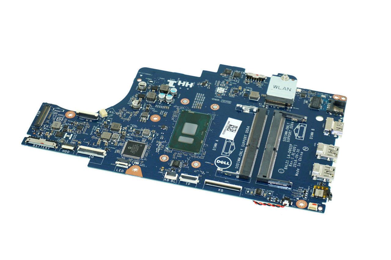 DG5G3 GENUINE DELL MOTHERBOARD INTEL I5-7200U INSPIRON 15 5567 P66F (AF510)