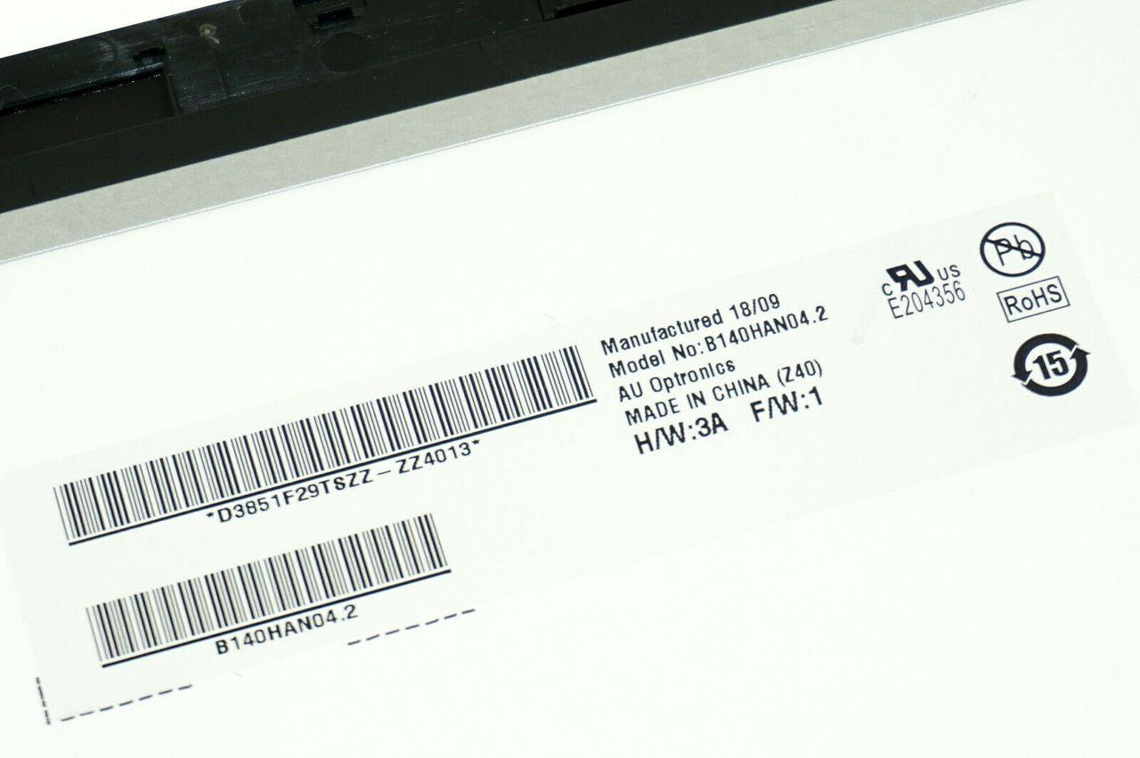 B140HAN04 2 48BKJLBJN10 GENUINE ASUS LCD 14 0 TOUCH Q405U Q405UA-BI5T5  (AF85)