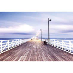 NEW SHORNCLIFFE PIER - COLOUR