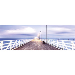 NEW SHORNCLIFFE PIER - COLOUR - LONG