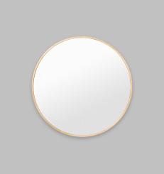 Bella Round Brass Mirror - 80cm x 80cm