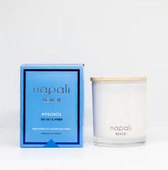 NAPALI- BEACH COLLECTION, MYKONOS, SEA SALT & AMBER
