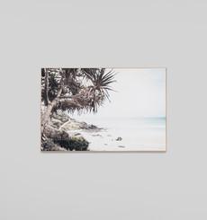 Along The Coast - Framed Canvas
