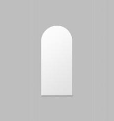 Bjorn Arch Floor Mirror - Bright White