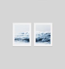 Rolling Sea Blue Pair