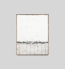 Icescape Blue - Framed - Sarah Brooke