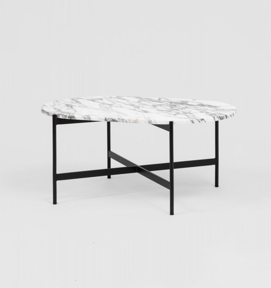 Rhonde Marble Coffee Table Black