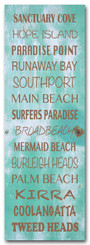 GOLD COAST SCROLL - VINTAGE BLUE