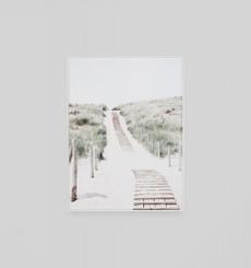 Beach Path Framed Canvas