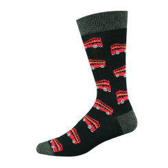 BAMBOOZLD SOCKS - DOUBLE DECKER BUS