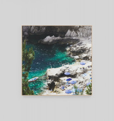 Capri Sun Framed Canvas