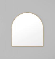 Bjorn Arch Mirror - Brass