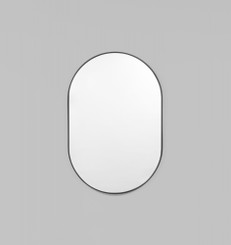 Bjorn Oval Mirror - Black