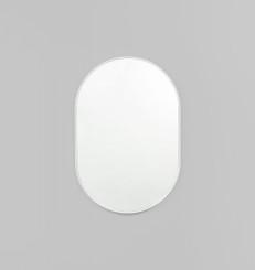 Bjorn Oval Mirror - Bright White