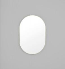 Bjorn Oval Mirror - Silver