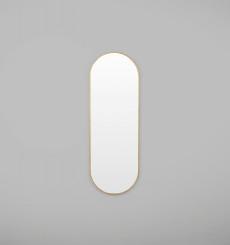 Bjorn Oval Mirror - Large - Brass
