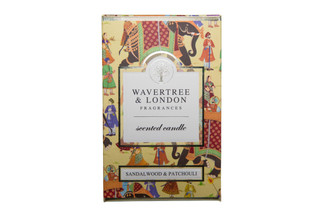 WAVERTREE & LONDON - SANDALWOOD & PATCHOULI - CANDLE