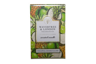 WAVERTREE & LONDON - PINEAPPLE, COCONUT & LIME - CANDLE