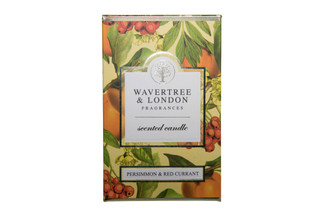 WAVERTREE & LONDON - PERSIMMON & RED CURRANT - CANDLE