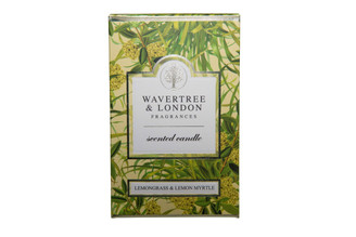 WAVERTREE & LONDON - LEMONGRASS & LEMON MYRTLE - CANDLE