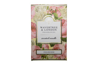 WAVERTREE & LONDON - ENGLISH ROSE - CANDLE