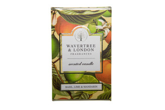 WAVERTREE & LONDON - BASIL LIME MANDARIN - CANDLE