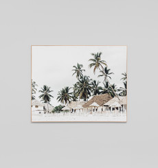 Quiet Island - Framed Canvas - 100 x 75cm