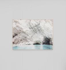 White Cliff - Framed Canvas