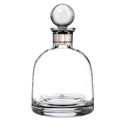 Waterford Crystal Elegance Short Decanter with Round Stopper