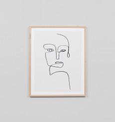 Linear Portrait 1