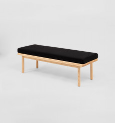 Scout Bench - Black/Timber