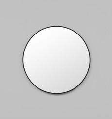 Simplicity Round Mirror Black - 80cm