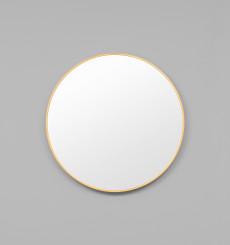 Simplicity Round Mirror Brass- 80cm