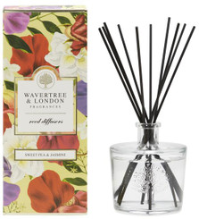WAVERTREE & LONDON - SWEET PEA & JASMINE - REED DIFFUSER (250ML)