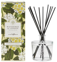 WAVERTREE & LONDON - FRANGIPANI & GARDENIA - REED DIFFUSER (250ML)