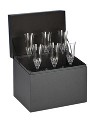 Waterford Crystal Lismore Essence Champagne Flutes Set of 6