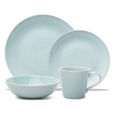 GORDON RAMSAY MAZE BLUE - 16 PIECE DINNER SET - matthewthomas.com.au