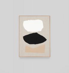Bergen Fawn Framed Screen Print