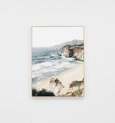 Surf Vista Framed Canvas
