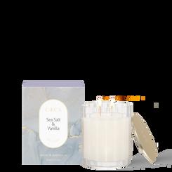 SEA SALT & VANILLA Soy Candle 350g