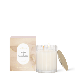 AMBER & SANDALWOOD Soy Candle 350g