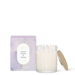 COTTON FLOWER & FREESIA Soy Candle 350g