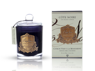 COTE NOIRE PERSIAN LIME - 450g GOLD BADGE CANDLES